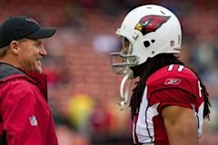 Ken Whisenhunt and Larry Fitzgerald