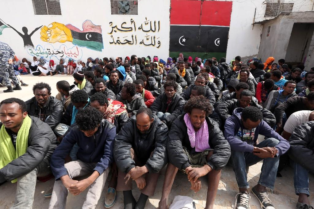 Up to 7,000 migrants held in Libya, says official