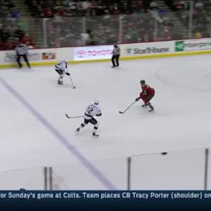 Tyler Toffoli Goal on Darcy Kuemper (18:18/1st)