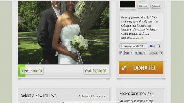 Crowdfunding -- using social media to fundraise