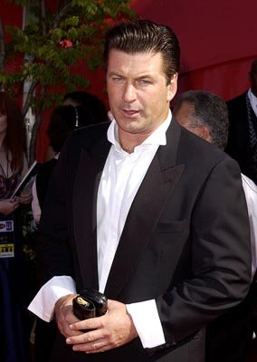 Alec Baldwin Emmy Awards - 9/22/2002