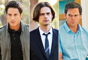 Michael Trevino, Matthew Gray Gubler, Michael C. Hall | Photo Credits: Bob Mahoney/The CW, Robert Voets/CBS, Randy Tepper/Showtime