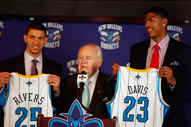 New Orleans Hornets Introduce Anthony Davis, Austin Rivers - Press Conference