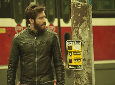 Gorgeous Jake Gyllenhaal in 'Enemy'. Copyright [Rhombus Media]