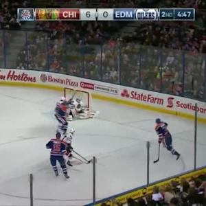 Corey Crawford Save on Teddy Purcell (15:15/2nd)