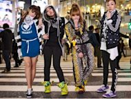 "2NE1 for Adidas' ""All Originals Represent"""