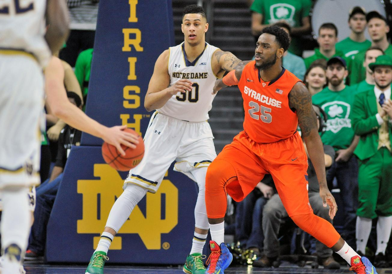 With nothing but pride to play for, Syracuse surges