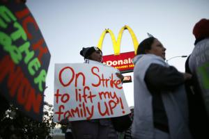 Fast-food strikes return amid push for wage hikes