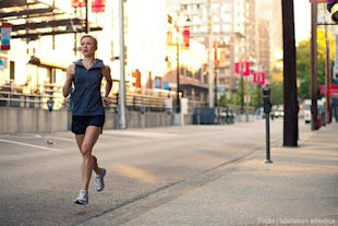 Running correctly may help prevent injuries rather than aggravating old ones.