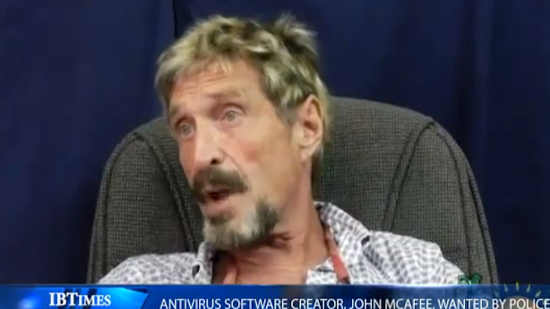 On the Lam, John McAfee Claims He Is Innocent