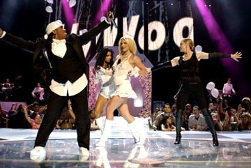 Missy Elliott, Christina Aguilera, Britney Spears, Madonna