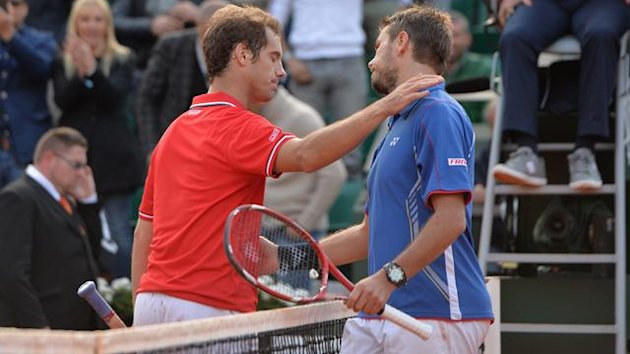 Richard Gasquet and Stanislas Wawrinka