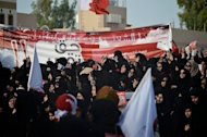 Bahraini Shiite Muslims chant slogans during an anti-government demonstration in the village of Abu Saiba, west of Manama, on June 8. For people living in countries where the the government monitors and censors the Internet, help is on the way