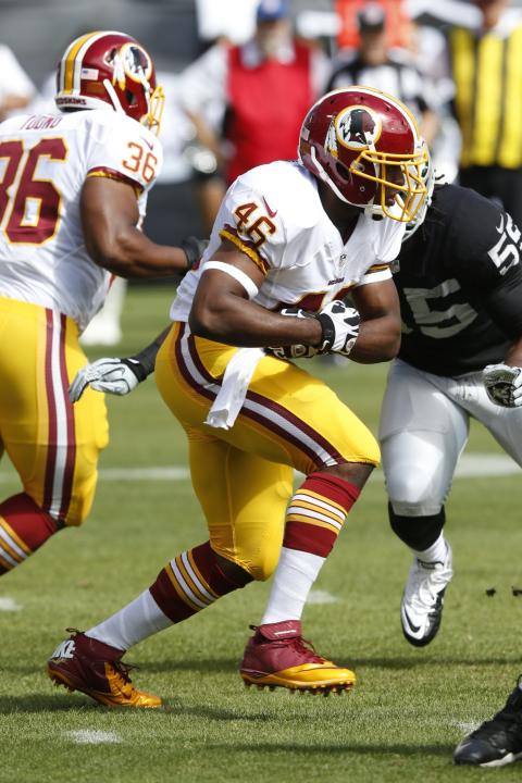 Redskins Raiders Football