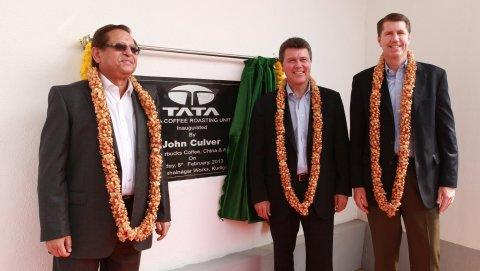 Starbucks Coffee Company and Tata Coffee Limited Inaugurate Roasting and Packaging Plant in Kushalnagar, Karnataka, India