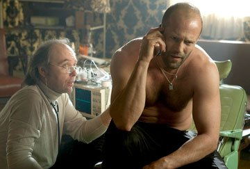 Dwight Yoakam and Jason Statham in Lionsgate Films' Crank