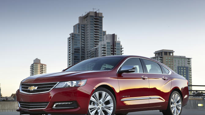 New Impala tops sedans in Consumer Reports' tests