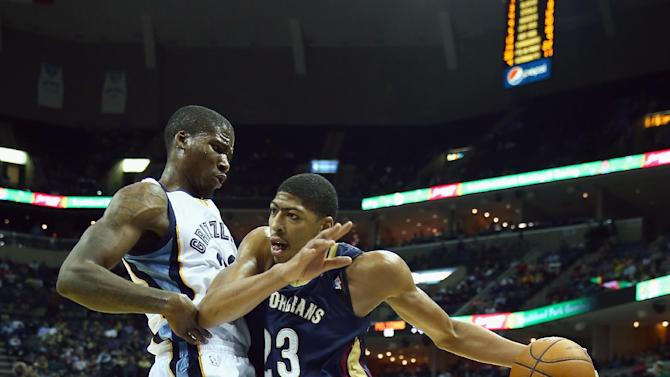 Pelicans build early lead, beat Grizzlies 99-84