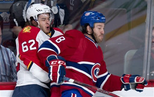 Markov scores twice as Montreal beat Florida 4-1