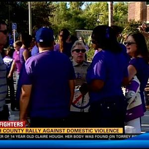 North County rally against domestic violence