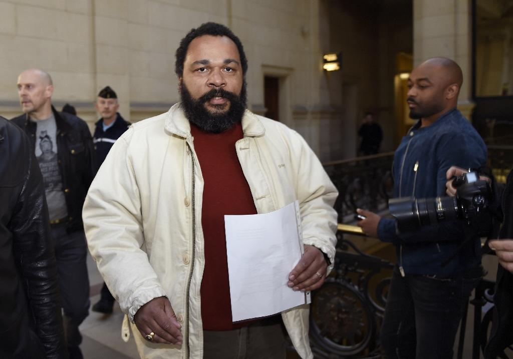Belgium sentences French comic Dieudonne to two months in jail