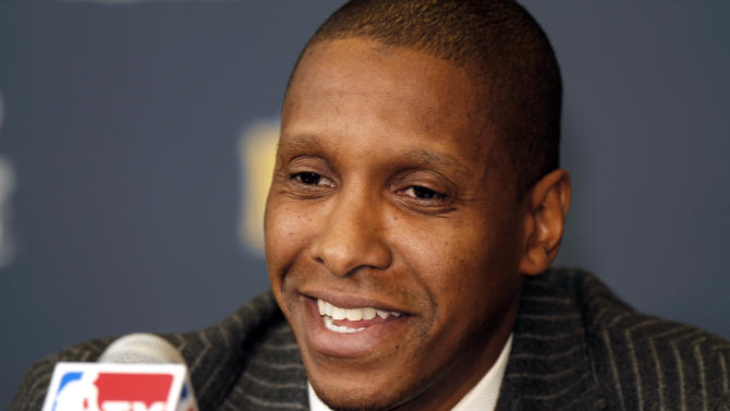 Nuggets' Ujiri named NBA's top executive