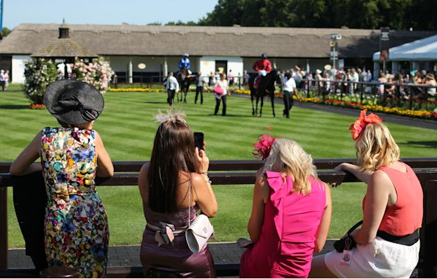Horse Racing 2013 - 2013 Piper-Heidsieck July Festival - Boylesports Ladies Day - Newmarket Racecourse