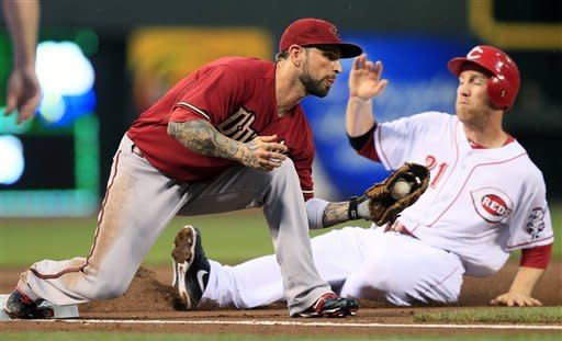 Kubel's 2 HRs lead Dbacks over Reds 7-1