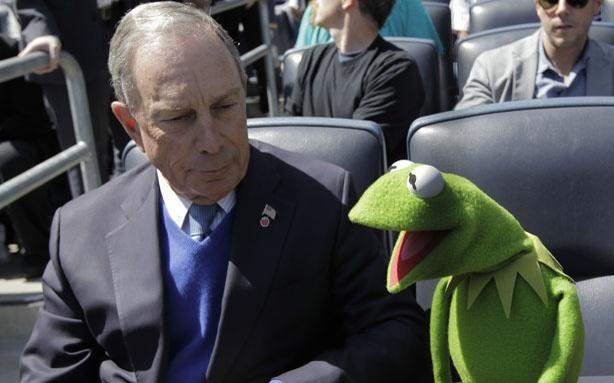 The Wooing of Michael Bloomberg