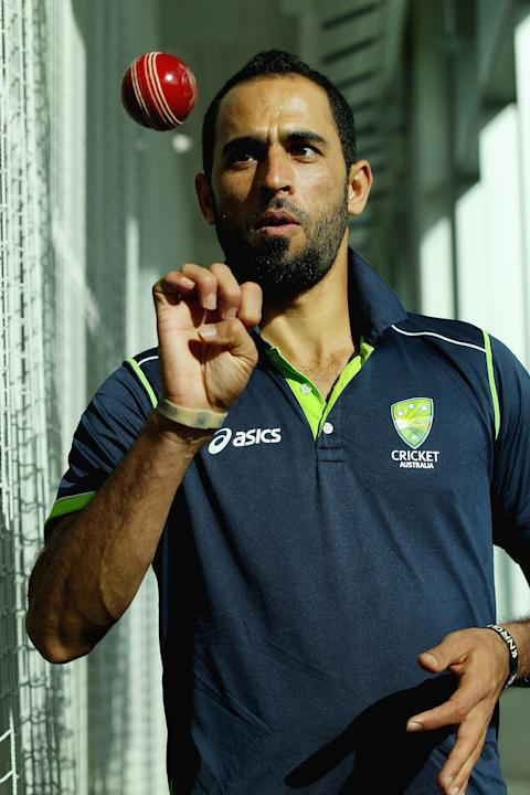 Fawad Ahmed Press Conference