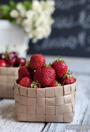 Paper Bag Fruit Baskets