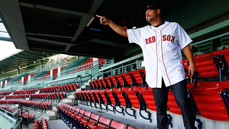 Boston Red Sox Introduce Shane Victorino
