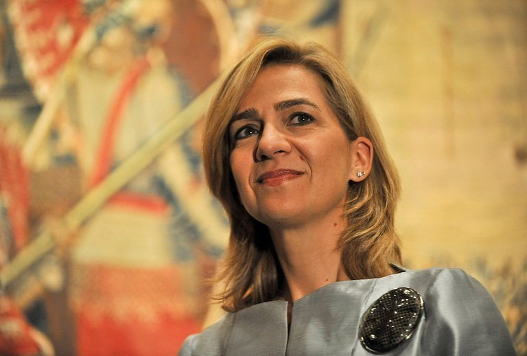 Infanta Cristina of Spain attends an art exhibition preview in Washington on September 13, 2011