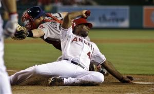 Wilson ends 2-month skid, Angels rout Red Sox 10-3