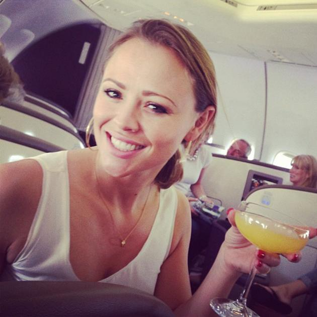Celebrity photos: After her long stint in Shrek The Musical, Kimberley Walsh is now jetting off on holiday with her Girls Aloud bandmate Nicola Roberts. The pair are heading off to Las Vegas, and Nico