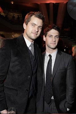 Joshua Jackson and Justin Bartha at the New York City premiere of Walt Disney Pictures' National Treasure: Book of Secrets