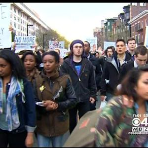 Boston Activists Rally In Support Of Baltimore Protests