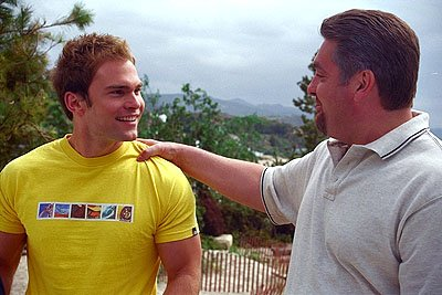 Seann William Scott and Chris Penn in Universal's American Pie 2
