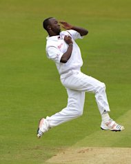 Kemar Roach claimed five New Zealand wickets to put the Windies on course for victory
