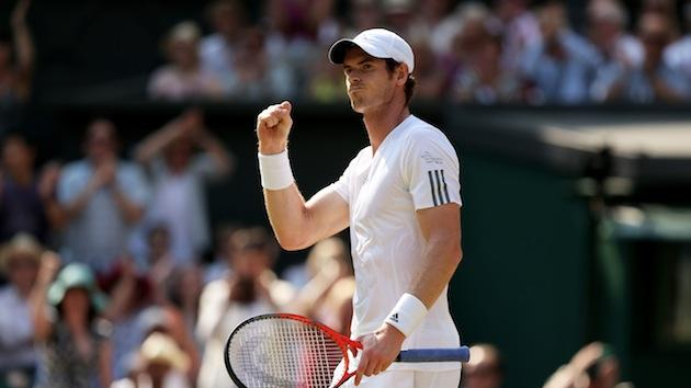 Andy Murray becomes first British male to win at Wimbledon in 77 years