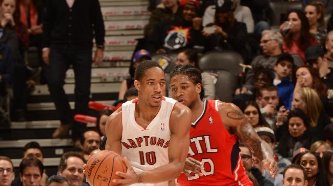 DeRozan scores 31 as Raptors beat Hawks 104-83