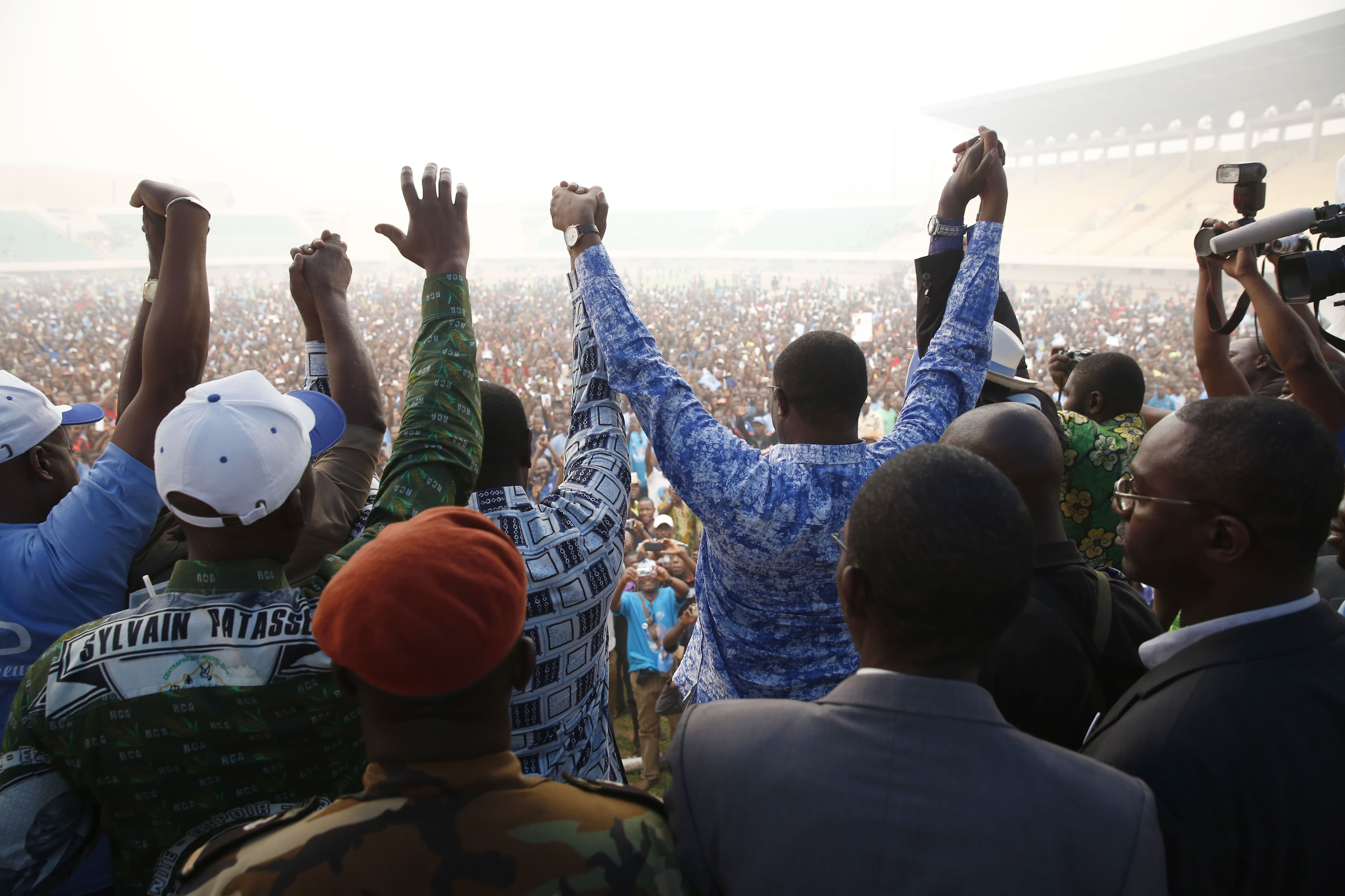 Candidates promise unity in Central African Republic vote