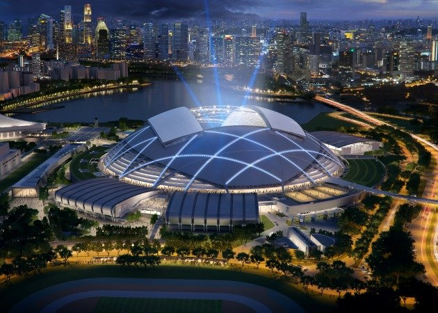 The National Stadium is expected to be completed in 2014. (Photo courtesy of Arup)