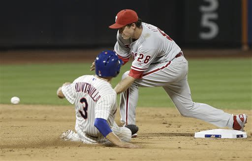 Phillies come flying out of break, rout Mets 13-8