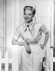 FILE - This 1958 file photo shows singer Patti Page. Page, who made &quot;Tennessee Waltz&quot; the third best-selling recording ever, has died. She was 85. Page died on New Year&#39;s Day in Encinitas, Calif., according to her manager. (AP Photo, file)