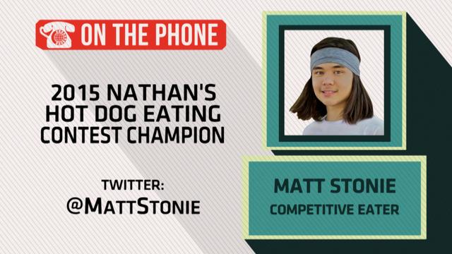 Gottlieb: Matt Stonie talks winning Nathan's hot dog contest