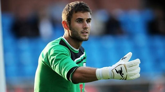 Andreas Arestidou, pictured, played second fiddle to regular stopper Barry Roche last season