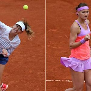 Tennis stars raise eyebrows with racy outfits