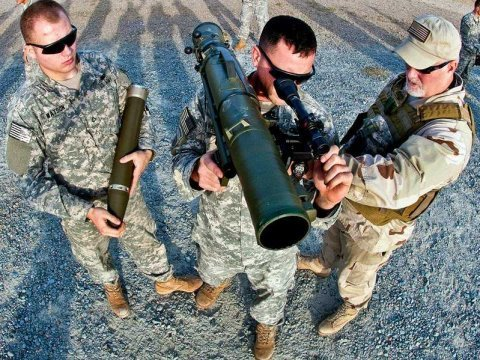us army, soldiers, bazooka