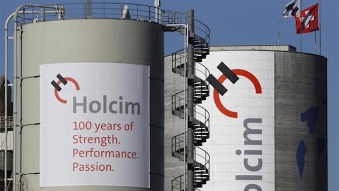 A general view shows Switzerland's Holcim cement production plant in Siggenthal. REUTERS/Christian Hartmann/Files